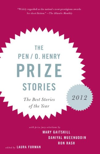 Pen/O. Henry Prize Stories 2012 The Best Stories of the Year  2012 edition cover
