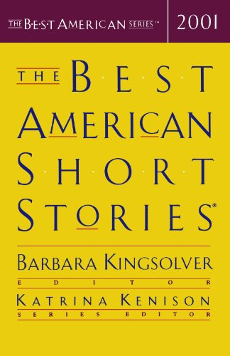 Best American Short Stories 2001   2001 edition cover