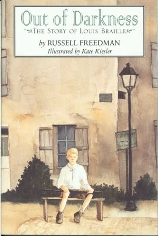 Out of Darkness The Story of Louis Braille  1999 edition cover