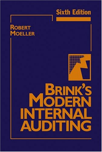 Brink's Modern Internal Auditing  6th 2005 (Revised) edition cover