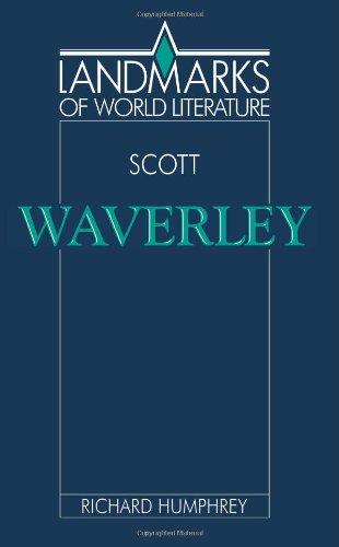 "Walter Scott ""Waverley""  1993 9780521378888 Front Cover"