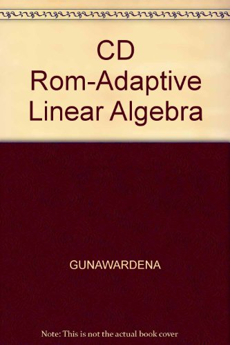 Linear Algebra   2004 9780534420888 Front Cover