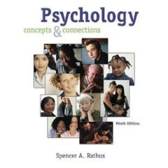 Psychology Concepts and Connections 9th 2005 9780534462888 Front Cover