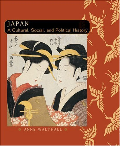 Japan A Cultural, Social, and Political History  2006 edition cover