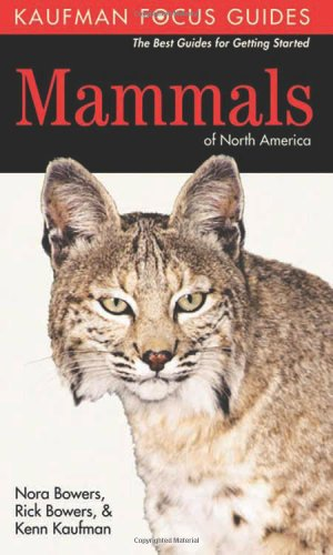 Kaufman Field Guide to Mammals of North America  12th 2007 edition cover