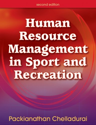 Human Resource Management in Sport and Recreation  2nd 2006 (Revised) edition cover