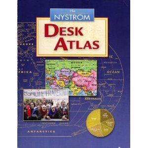 The NYSTROM Desk Atlas 1st 2008 9780782511888 Front Cover