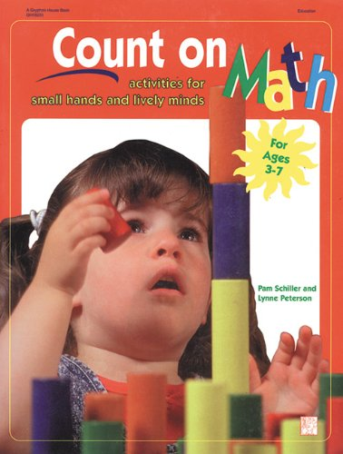 Count on Math Activities for Small Hands and Lively Minds  1997 edition cover