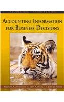 Accounting: Information for Business Decisions, Volume 1  3rd 2010 edition cover