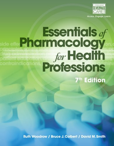 Essentials of Pharmacology for Health Professions:   2014 9781285077888 Front Cover