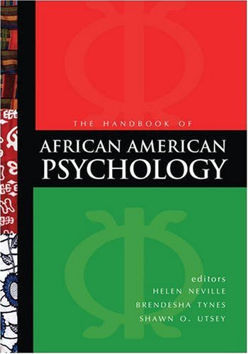 Handbook of African American Psychology   2009 edition cover