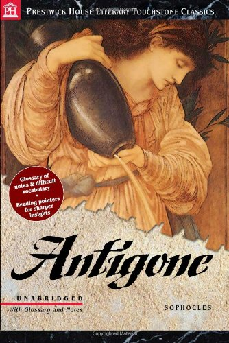 Antigone - Literary Touchstone Edition   2005 9781580493888 Front Cover