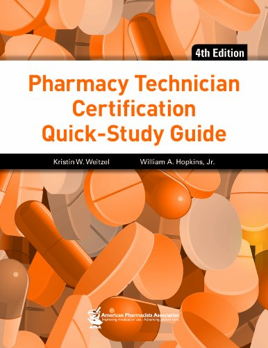 Pharmacy Technician Certification Quick-Study Guide, 4e  4th edition cover