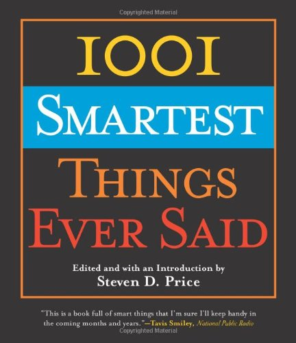 1001 Smartest Things Ever Said   2004 edition cover