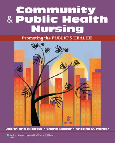 Community Health Nursing  8th 2014 (Revised) 9781609136888 Front Cover