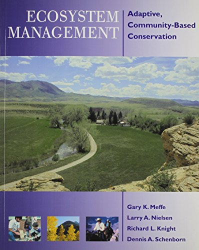 Ecosystem Management Adaptive, Community-Based Conservation 2nd 2002 edition cover