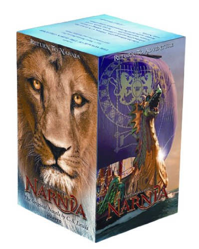 Chronicles of Narnia Movie Tie-In 7-Book Box Set  Movie Tie-In  9780061992889 Front Cover