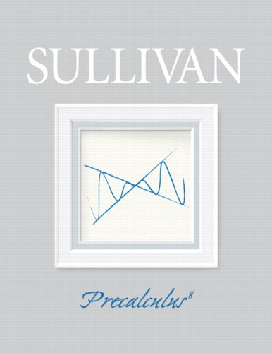 Precalculus  8th 2008 9780132256889 Front Cover