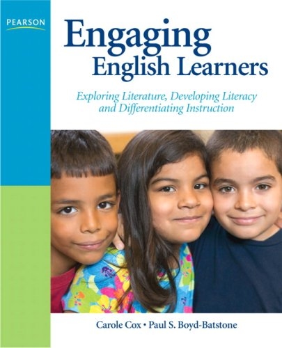 Engaging English Learners Exploring Literature, Developing Literacy and Differentiating Instruction  2009 edition cover