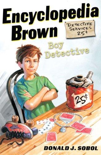 Encyclopedia Brown, Boy Detective  N/A edition cover
