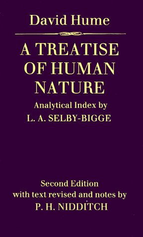 Treatise of Human Nature  2nd 1978 (Revised) edition cover