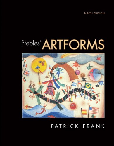 Prebles' Artforms (with MyArtKit Student Access Code Card)  9th 2009 edition cover