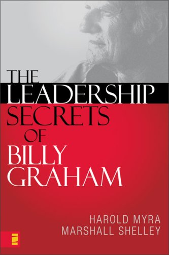 Leadership Secrets of Billy Graham   2008 9780310287889 Front Cover