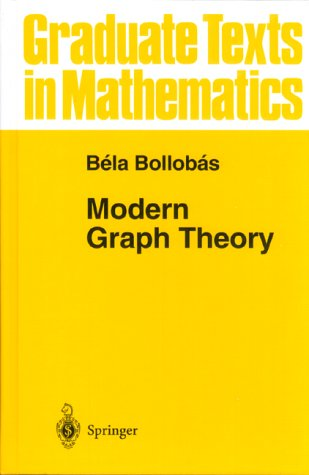 Modern Graph Theory   1998 edition cover