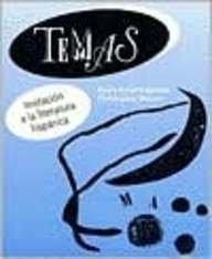 Temas Invitaci�n a la Literatura Hisp�nica  1994 edition cover