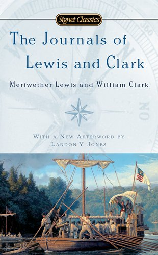 Journals of Lewis and Clark  N/A edition cover