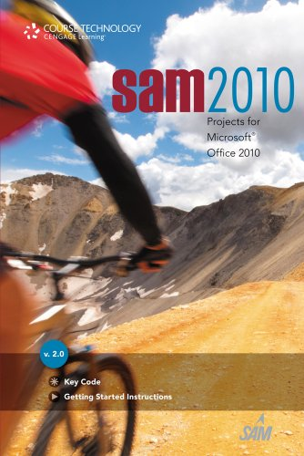 SAM 2010 Projects   2012 9780538751889 Front Cover