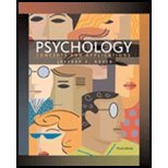 Psychology Concepts and Applications 3rd 2009 9780547223889 Front Cover