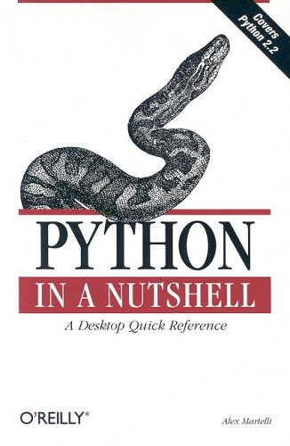 Python in a Nutshell   2003 edition cover