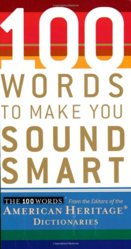 100 Words to Make You Sound Smart   2006 edition cover