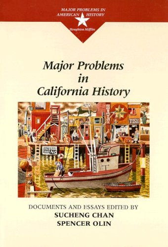 Major Problems in California History   1997 edition cover