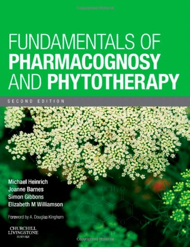 Fundamentals of Pharmacognosy and Phytotherapy  2nd 2012 edition cover