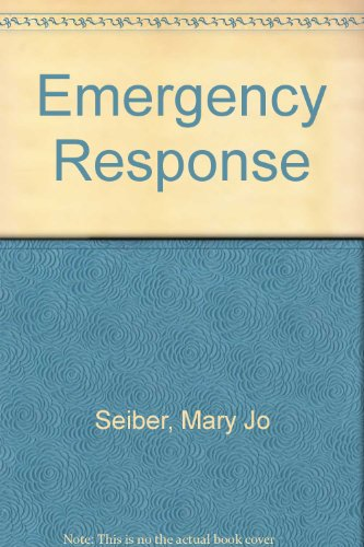 Emergency Response Workbook  2009 (Revised) 9780757570889 Front Cover