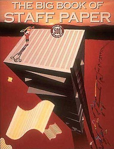 Big Book of Staff Paper  N/A edition cover