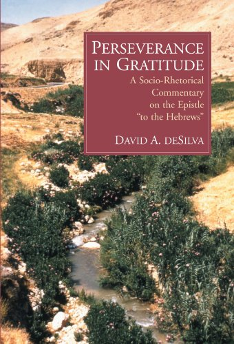 Perseverance in Gratitude A Socio-Rhetorical Commentary on the Epistle to the Hebrews  2000 edition cover