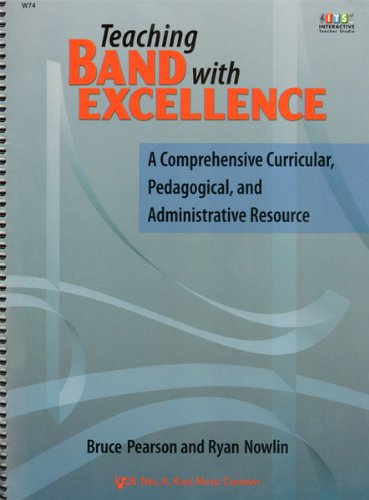 TEACHING BAND WITH EXCELLENCE           N/A edition cover