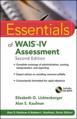 Essentials of WAIS�-IV Assessment  2nd 2013 9781118271889 Front Cover