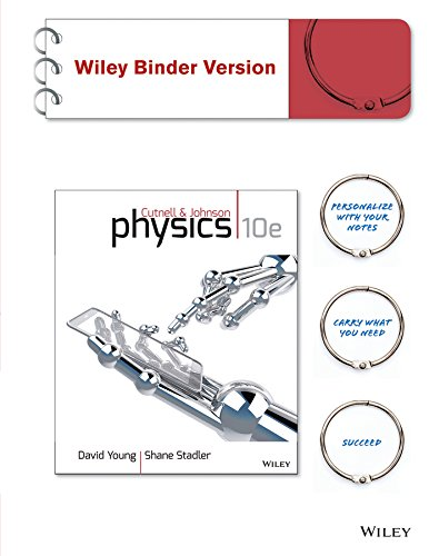 Physics:  10th 2014 9781118651889 Front Cover