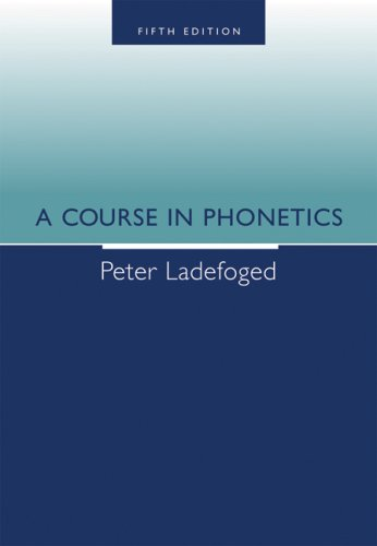 Course in Phonetics  5th 2006 edition cover