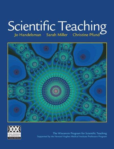 Scientific Teaching   2007 edition cover
