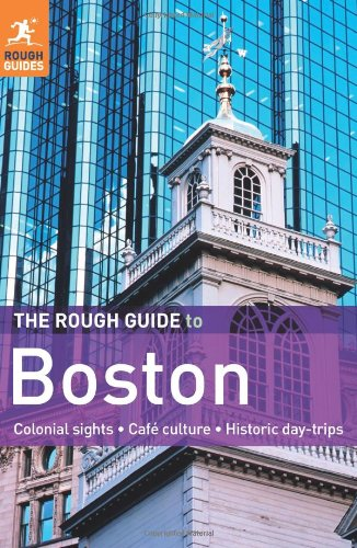 Rough Guide to Boston  6th 2011 9781848365889 Front Cover