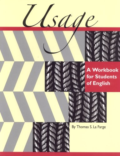 Usage A Workbook for Students of English  2005 9781877653889 Front Cover