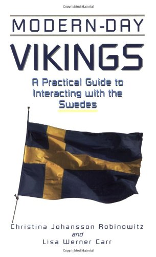 Modern-Day Vikings A Practical Guide to Interacting with the Swedes  2001 edition cover