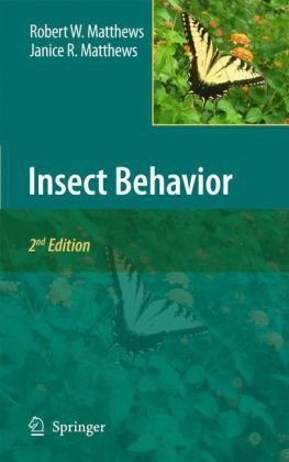 Insect Behavoir  2nd 2010 edition cover
