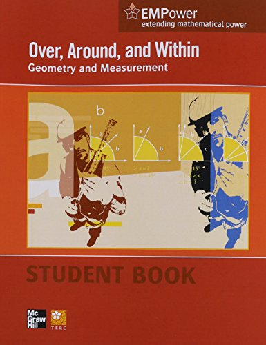 Over, Around, and Within Geometry and Measurement  2012 (Student Manual, Study Guide, etc.) 9780076620890 Front Cover