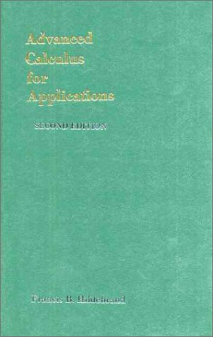 Advanced Calculus for Applications  2nd 1976 (Revised) edition cover